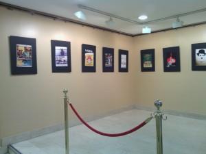 Exposición de reproducciones de Carteles de Cine Cubano en Albacete